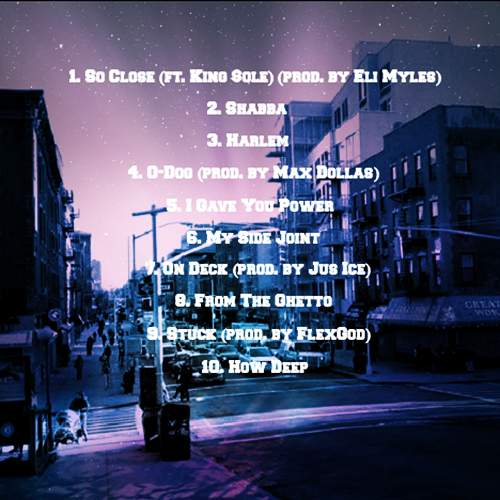 Dave East I Am The Streets Vol 1 Back