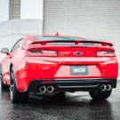 BORLA INTRODUCES EXHAUST SYSTEMS FOR THE 2016 CHEVROLET CAMARO SS